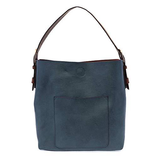 Joy Susan Classic Hobo Handbag (Dark Chambray)