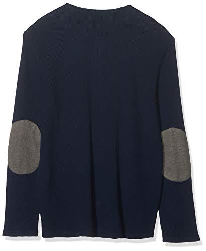 dockers LS Henley T-Shirt, Blu (Pembroke 0002), Small Uomo