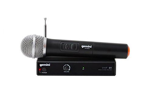 Gemini VHF Series VHF-01M-C4 - Sistema de audio profesional DJ- Equipamiento de...