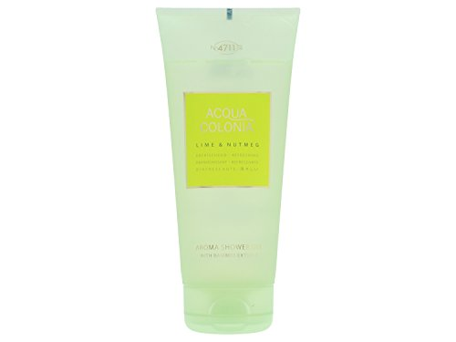 4711 Acqua Colonia Lime & Nutmeg Unisex Duschgel, 200 ml