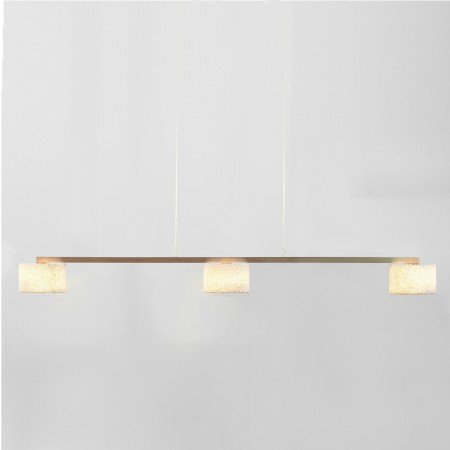 Serien Lighting Reef Bar Pendelleuchte 3-flammig, Aluminium poliert