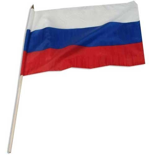 Online Stores Russian Federation Flag 12 x 18 inch
