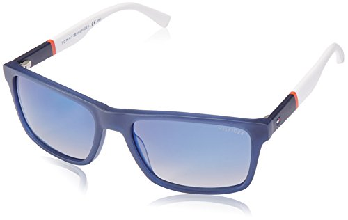 Tommy Hilfiger Herren TH 1405/S DK H1O 56 Sonnenbrille, Blau (Blue Redwhte/Blue)