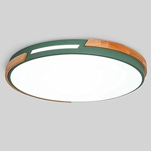 Lámpara de techo LED Lámpara de techo redonda ultrafina regulable Montaje empotrado Minimalista 18W 27W 36W Lámpara de techo para lámparas de dormitorio, sala de estar y cocina con atenuación tricolor