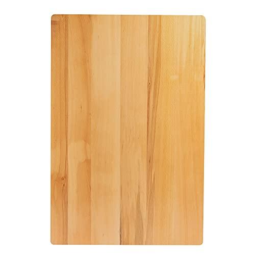 Phoetya Tischplatte aus Massivholz Buche - 2,5 cm Stark, Hochwertige Massivholzplatte DIY Schreibtischplatte Bürotischplatte Arbeitsplatte...