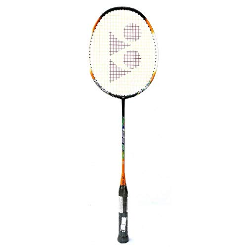 Yonex Muscle Power 22 Light Aluminum Strung Badminton Racquet, 4U-G4 (Orange)