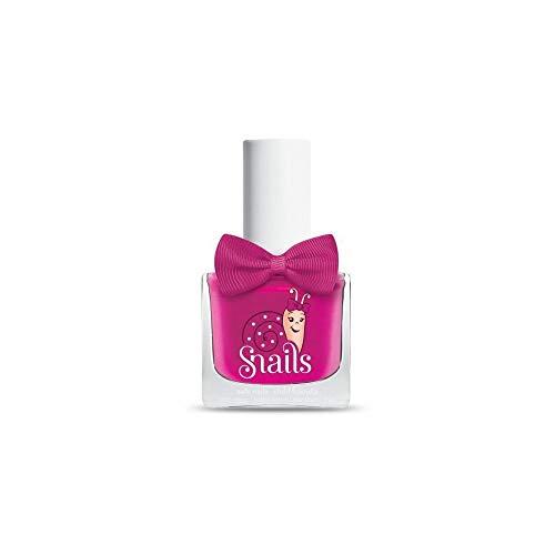 Snails Kinder Nagellack viele Farben abwaschbar mit Wasser und Seife 10, 5 ml (Love is (Purpurrot))