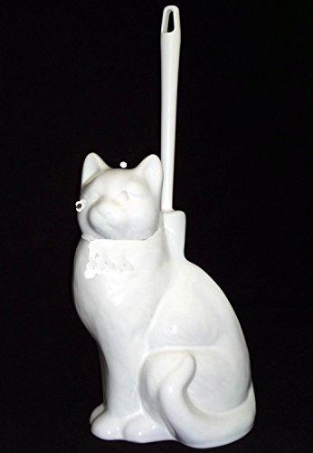 Wiegand WC-Garnitur Katze weiß aus Keramik
