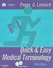 Medical Terminology Online for Quick & Easy Medical Terminology (User Guide, Access Code and Textbook Package), 5e 5th Edition by Leonard BA MT MEd, Peggy C. (2006) Spiral-bound