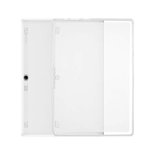 Funda Transparente para Tableta para Lenovo Tab 2 A10-70 Soft TPU Funda Transparente Funda Ultrafina Anti-arañazos Funda Trasera a Prueba de Golpes de TAOYUNXI (Lenovo Tab2(A10-70F))