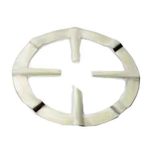 UPKOCH Gusseisen Wok Ring Support Aufsatzring Moka Topflappen Anti Rutsch Topf Rack für Gaskochfelder Gasherd Milk Pot Rack Medizin Pot Bracket (Silber)