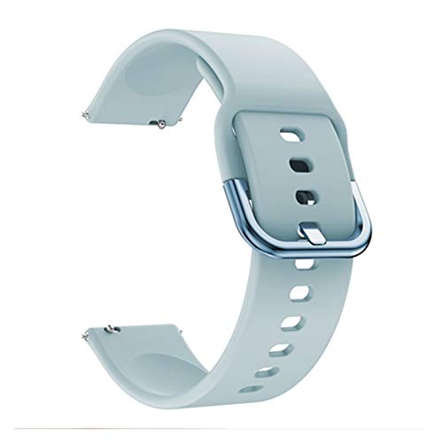 LXF JIAJU para Huawei Watch GT / GT2 46mm / GT 42mm 46mm Reloj Inteligente para GT242MM WatchStrap Wheambands de Silicona 20 mm 22 mm Banda de Reloj Pulsera (Color : Light Blue, Size : For Watch GT)