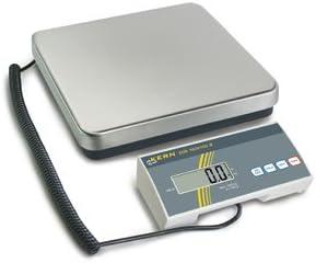 Balanza postal para expedición de paquetería, plataforma de acero inoxidable y visor externo, 35 kg x 20 g