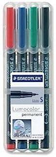 STAEDTLER 313 WP4 Lumocolor® permanent pen 313 Lackstift Marker Lackmarker Set