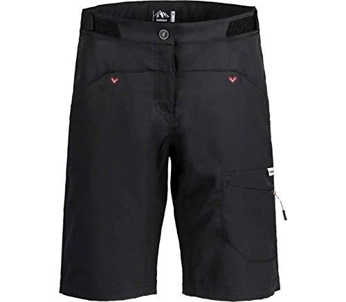 Maloja Damen CardaminaM. Multisport Shorts, Moonless, XS