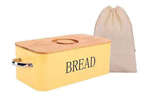 Big bread boxes for kitchen counter, bread box with bamboo lid, metal bread boxes for kitchen counter, large bread boxes, metal bread box vintage