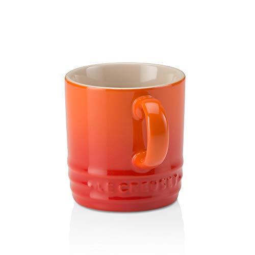 Le Creuset Stoneware Espresso Mug, 3 oz., Flame