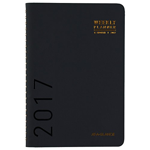 """AT-A-GLANCE Weekly / Monthly Planner / Appointment Book 2017, 4-3/4 x 8"""", Color Selected For You May Vary (70-100X-00)"""
