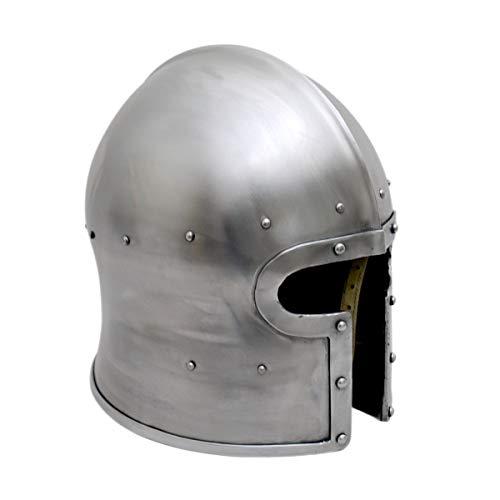 Italienische Beckenhaube (Barbuta) / Größe M/Mittelalter Helm/Get Dressed for Battle