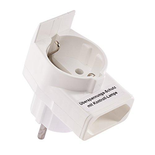 Combi-Duplex Stecker mit Überspannungsschutz für eWickler