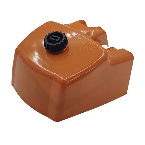 Cancanle Cubierta de filtro de aire con bloqueo de giro para motosierra STIHL 066 MS650 MS660