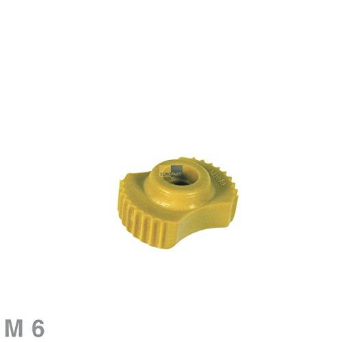 ORIGINAL Miele 3288841 Geschirrkorb Korb Bodenkorb Rändelmutter Mutter M6 für Oberkorb Spülmaschine Geschirrspüler auch Imperial Neckermann Quelle