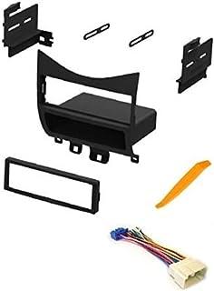 Kit de painel de instalação estéreo para carro e arnês de áudio ASC para instalar um rádio de pino simples de reposição pa...