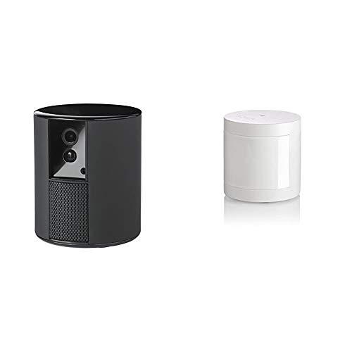 Somfy One 2401492, Cámara vigilancia WiFi, Sirena integrada de 90dB, Detector de Movimiento y cámara con visión Nocturna 1080 + 2401490Detector de Movimiento Protect , Sensor de Movimiento