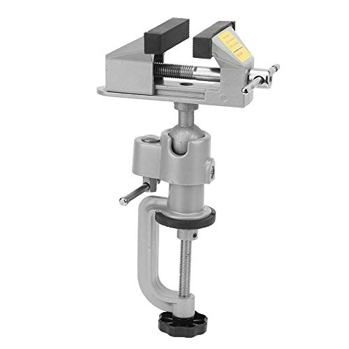 Tornillo de banco universal de aleación de aluminio de alto grado giratorio de 360 grados de mesa para el hogar Vice Mini abrazadera de mesa tornillo de banco de trabajo