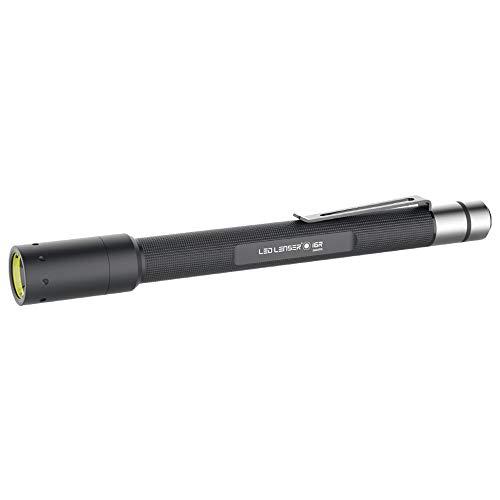 LED Lenser i6R - Torcia industriale ricaricabile, colore: Nero