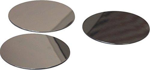 HenBea 929, Espejo Redondo, Diámetro de 12 cm, Pack de 10