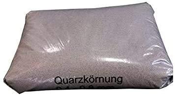 25kg Quarzsand Rasensand Kunstrasensand Aquariensand 0,4-0,8mm 0,52 Euro / 1 KG