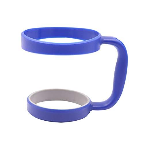 BESTONZON 30 oz Trommelgriff, leicht, verschüttungssicherer Griff für Edelstahlbecher, Reise-Wasser-Kaffeetassen oder Flasche (blau)