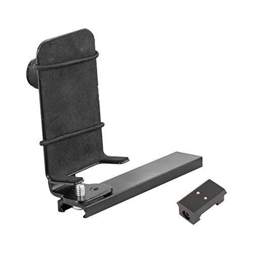 Caldwell Pic Rail Phone Mount with Heavy-Duty Construction, Easy Operation Features and Quick Detach for Outdoor, Range, Shooting and Competition