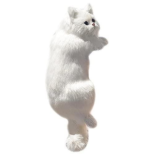 Doans Päls hängande katt simulerad katt plysch leksak djurfigurer hängande docka för TV hänge skrivbordsdekoration utmärkt