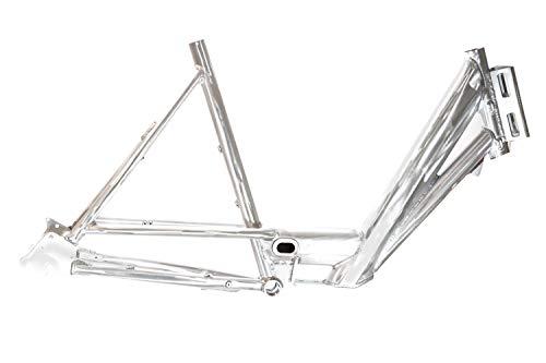 26 Zoll Alu Damen Fahrrad Rahmen Post Lasten Cargo Bike Nabenschaltung Disc Rh62