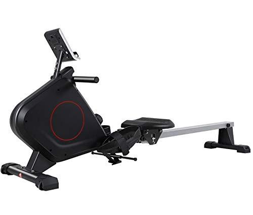 Hammer Máquina de remo, compacto for el hogar entrenamiento, Smooth Stroke de remo, el tono muscular Mejorar la salud del corazón, con el monitor LCD Rower Fila Máquina Máquinas de ejercicios de entre