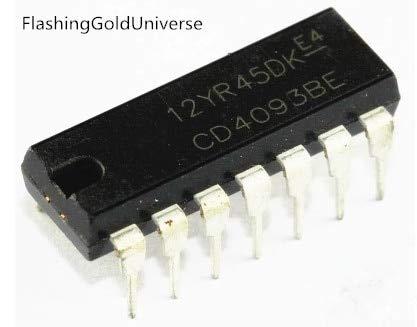 100pcs CD4093BE CD4093 HEF4093BP HEF4093 DIP-14 IC New original