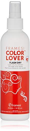 FRAMESI Color Lover Flash Dry Spray, 8.5 Fl Oz
