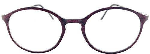 デューク 老眼鏡 レディース +1.0 度数 ネオクラシックスキニー ボストン ケース付き レッド GLR-34-7+1.00