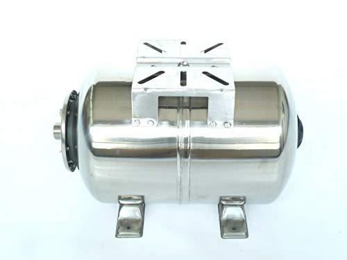 24 Liter Edelstahl Druckkessel INOX, Membrankessel für Hauswasserwerk