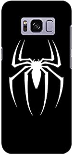 Stylizedd Samsung Galaxy S8 Slim Snap Case Cover Matte Finish - Spidermark -Black