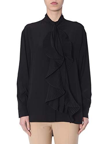 Luxury Fashion | Givenchy Dames BW60EK10JX001 Zwart Zijde Blouses | Seizoen Outlet