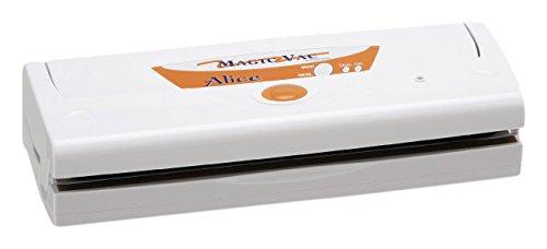 Magic Vac Alice 800mbar Color blanco sellador al vacío - Envasadora al vacío (Color blanco, 800 mbar, 380 mm, 140 mm, 90 mm, 2,3 kg)