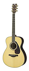 This is Yamaha LS16 Acoustic Guitar in Natural Finish