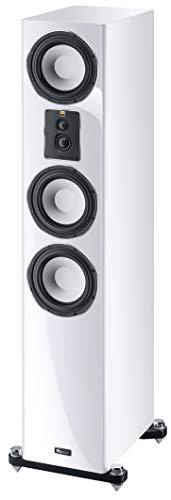 Magnat Signature 707, weiß, 1 STK. - dynamischer 4-Wege Stand-Lautsprecher mit edler Hochglanz-Front für fantastischen Stereo- und Heimkino-Sound