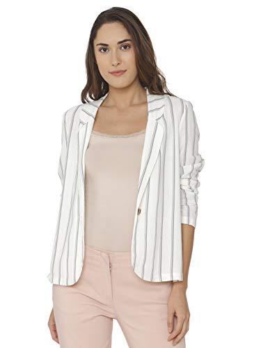 Vero Moda Vmanna Milo LS Blazer Stripe Wvn Chaqueta de Traje para Mujer