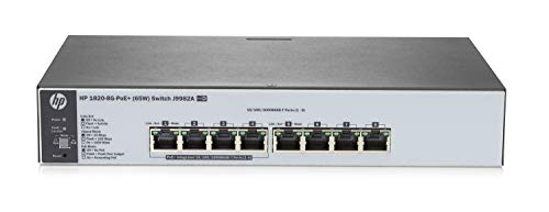 HP J9982A#ABB 1820-8G-PoE+ (65W) Switch-Hub