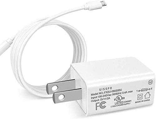Kindle Fire 7 Atlanta Mall Charger 10W Mail order Fast Wall AC w Adapter
