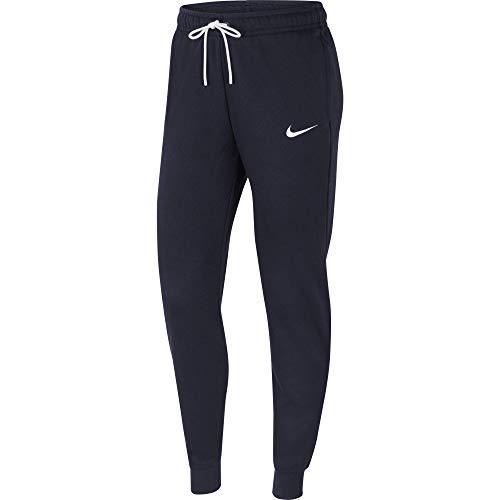NIKE Pantalón de chándal para Mujer Team Club 20, Mujer, Pantalones Deportivos, CW6961-451, Obsidian/White/White, Extra-Small